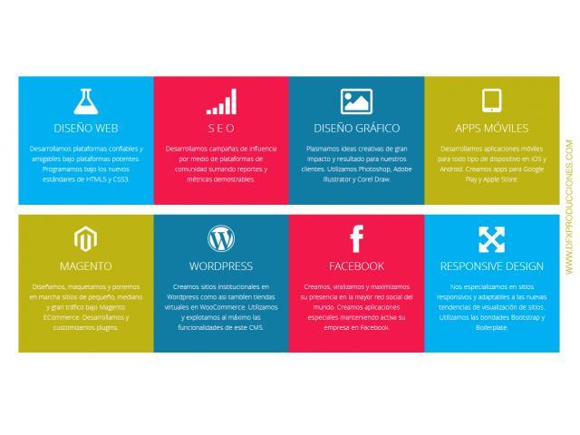 Servicios Web por Diseñadores en Capital Federal
