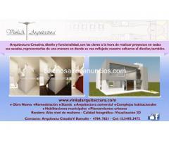 Estudio de arquitectura vinka Remodelacion - Obras - Stand - Renders