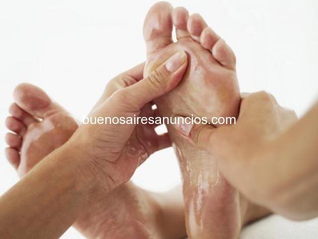 Masajista belleza de pies a domicilio