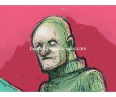 Profesor de dibujo, ilustración, comics, retoque e ilustración digital