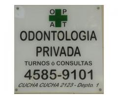 CONSULTORIO ODONTOLOGICO PRIVADO EN LA PATERNAL DENTISTAS ODONTOLOGIA