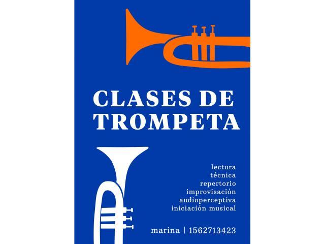 Clases de trompeta para todas las edades y niveles!