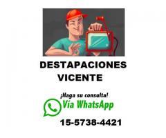 DESTAPACIONES 24 HS EN ABASTO 15-5738-4421 // CAPITAL FEDERAL //