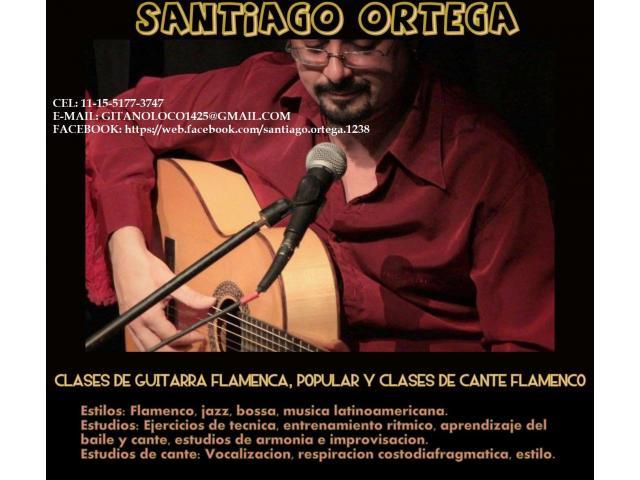 CLASES DEFLAMENCO, GUITARRA, CANTE, CAJON Y PALMAS