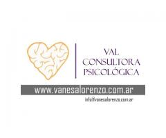 Consultora Psicológica  Vanesa Lorenzo