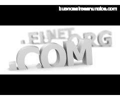 Registre su dominio para su pagina web